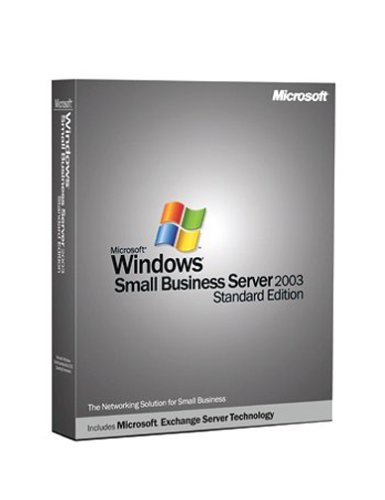 Microsoft Windows Small Business Server 2003, Standard Edition - CD/DVD 5CLT/CAL von Microsoft