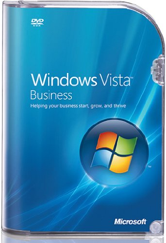 Microsoft Windows Vista Business Upgrade englisch DVD von Microsoft