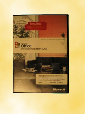 SB/MS Office Professional 2003 + SP1 CD W32 1PK NON OSB/ incl.Word, Excel, Outlook, PowerPoint, Publisher, Access 2003 von Microsoft