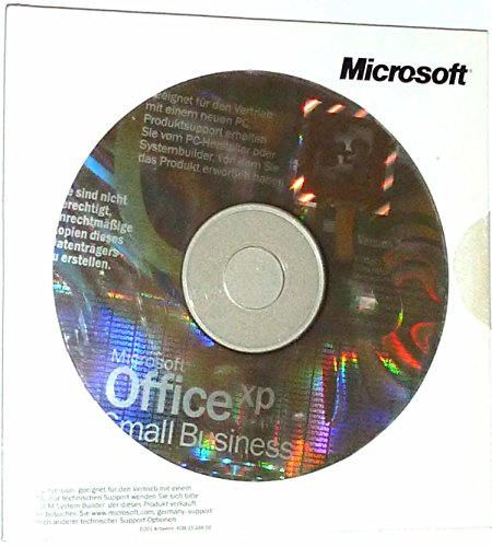 SB/MS Office Small Business XP CD W32, 3pk NON OSB, Inhalt: Word, Excel, Outlook, Publisher von Microsoft