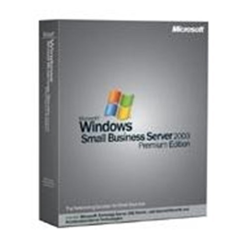 UP MS Small Business Server Premium 2003 R2 + 5Cl.dt.CD/DVD / von MS SBS Sv. 2000 VUP von Microsoft