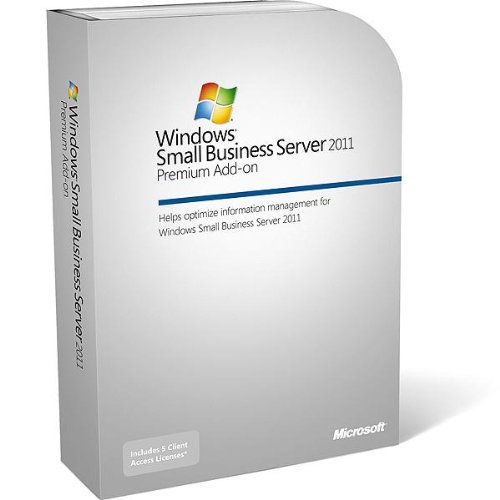 Windows Small Business Server 2011 Premium 64-Bit Add-on 5 CAL von Microsoft