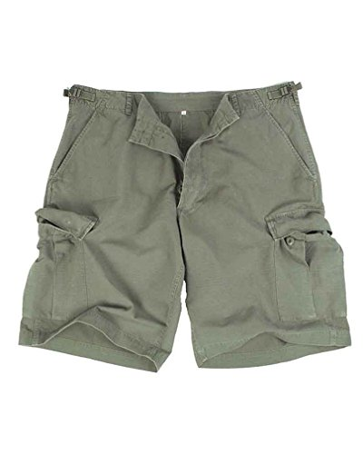 Mil-TecHerren Short Grün Olive Green von Mil-Tec
