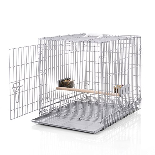 Montana Cages Carry Me Large - Platinum von Montana Cages