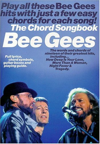 Bee Gees: The Chord Songbook: Songbook für Keyboard von Music Sales Limited