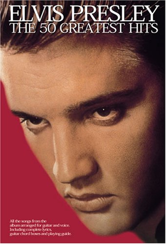Elvis Presley: The 50 Greatest Hits (Lyrics & Chords): Noten für Gesang, Gitarre von Music Sales Limited