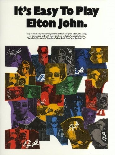 It's Easy To Play Elton John (PVG, Album): Noten für Gesang, Klavier (Gitarre) von Music Sales Limited