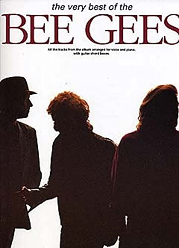 The Very Best Of The Bee Gees (PVG Album): Noten für Gesang, Klavier (Gitarre) von Music Sales Limited