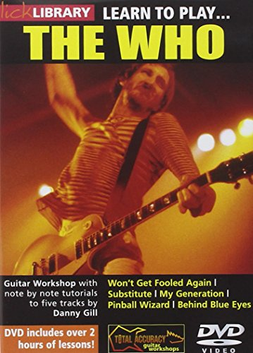 Learn To Play - The Who [UK Import] von Music Sales