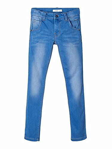 NAME IT Jungen Jeanshose Nitclas Xsl/Xsl Dnm Pant Nmt Noos, Blau (Medium Blue Denim), 152 von NAME IT