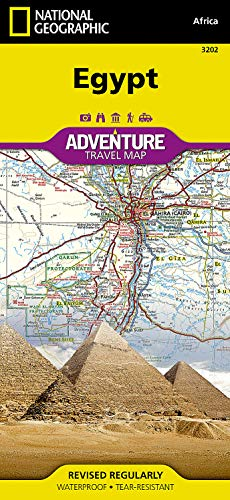 Ägypten: NATIONAL GEOGRAPHIC Adventure Maps von National Geographic Maps
