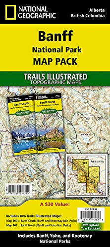Banff National Park [map Pack Bundle] (National Geographic Trails Illustrated Topographic Map) von NATIONAL GEOGRAPHIC