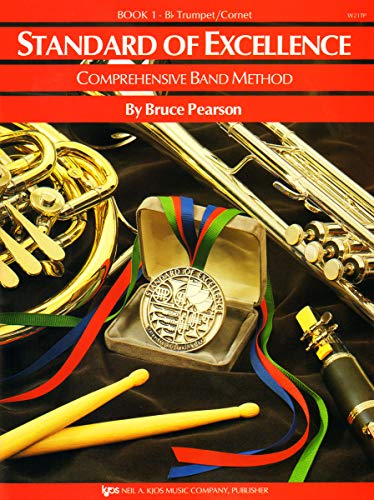 Standard Of Excellence: Comprehensive Band Method Book 1 (B Flat Trumpet/Cornet) -For B Flat Trumpet & Cornet-: Noten, Lehrmaterial für Trompete, Horn von Neil A. Kjos Music Co