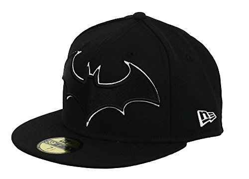 DC COMICS - NEW ERA BASECAP - BATMAN - LOGO - BLACK / WHITE von New Era