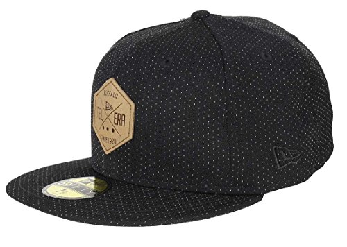 New Era - 59fifty Basecap - Hex Patch - Black - 8 - 64cm (XXL) von New Era