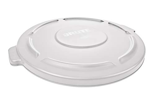 Rubbermaid Brute Snap On Lid - White von Rubbermaid Commercial Products