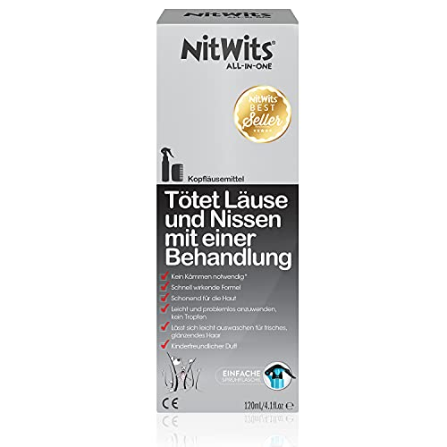 NitWits All-In-One Kopfläusemittel, 180 g von Nitwits
