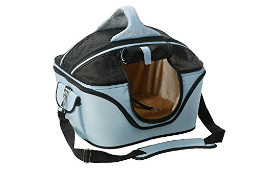 One für Haustiere der Cozy Pet Carrier, Large, Powder Blue von One for Pets