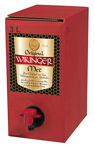 Original Wikinger Met Bag-in-Box (1 x 3 l) von Original Wikinger Met