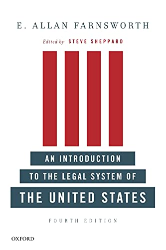 An Introduction to the Legal System of the United States, Fourth Edition von Oxford University Press, USA