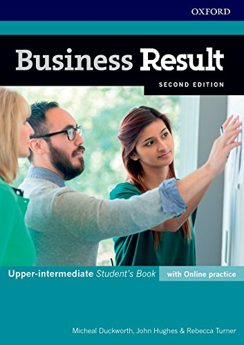 Business Result: Upper-intermediate: Student's Book with Online Practice (Business Result Second Edition) von OUP Oxford