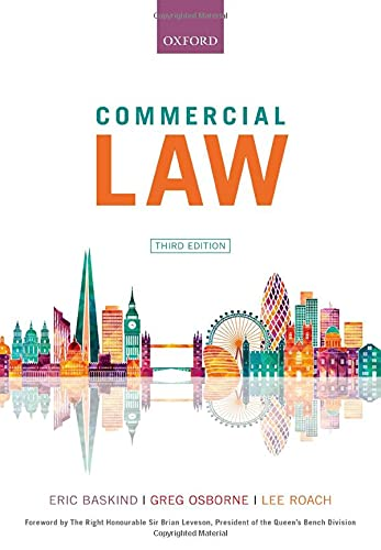 Commercial Law von Oxford University Press