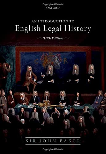 Introduction to English Legal History von Oxford University Press