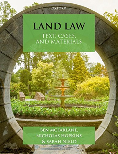 Land Law: Text, Cases & Materials (Text, Cases, and Materials) - 4th Edition von Oxford University Press