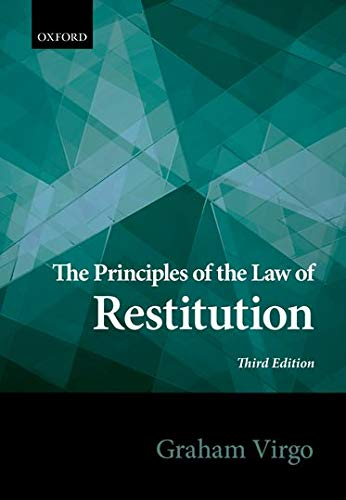 Principles of the Law of Restitution von Oxford University Press