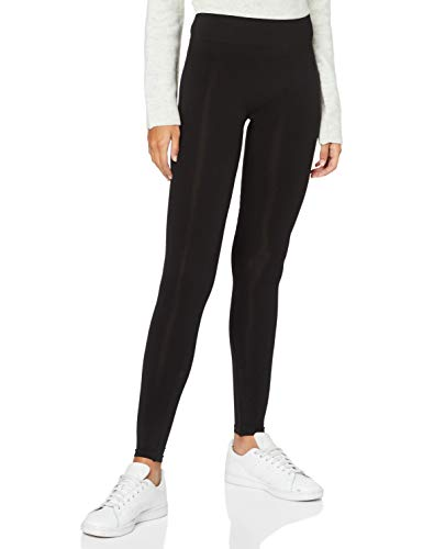 PIECES Damen Legging 17040060, Gr. 38/40 (M/L), Schwarz (Black) von PIECES
