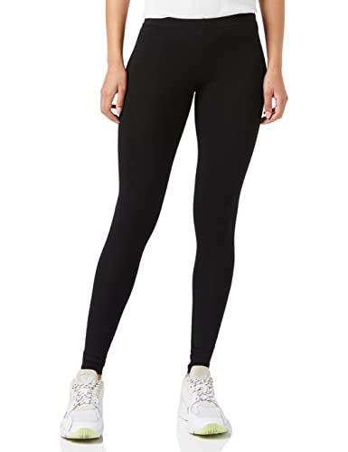 PIECES Damen Legging EDITA LONG BOX SUPPLY 11, Schwarz (Black), 40 (Herstellergröße: L) von PIECES