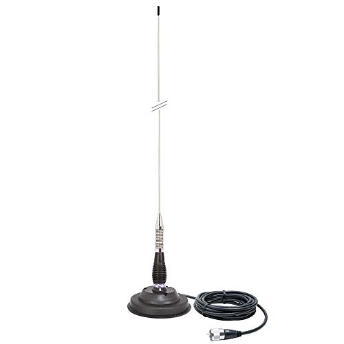 CB-Antenne PNI ML100, 100 cm lang, 125 mm Magnethalterung inklusive von PNI