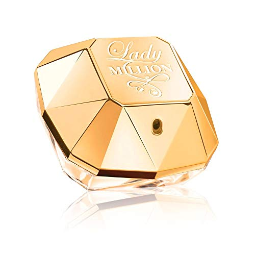Paco Rabanne Lady Million Eau De Parfum Spray für Damen Pack (1x 80 ml) von Paco Rabanne