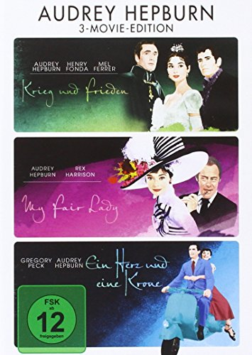 Audrey Hepburn 3-Movie-Edition [3 DVDs] von Paramount Pictures (Universal Pictures)