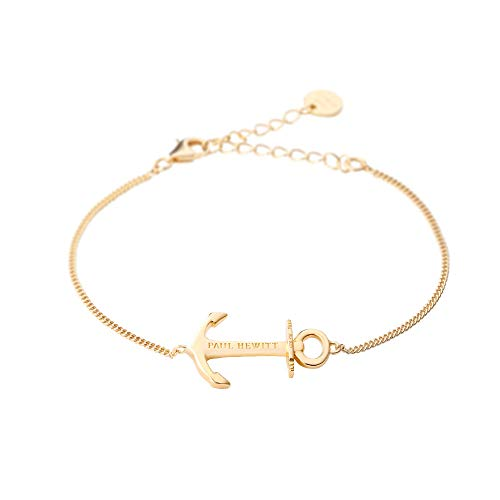 PAUL HEWITT Anker Armkette Damen Anchor Spirit Plated Gold aus 925 Sterling Silber - vergoldet von PAUL HEWITT