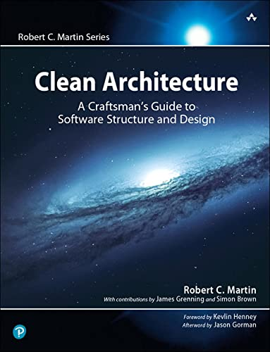 Clean Architecture: A Craftsman's Guide to Software Structure and Design (Robert C. Martin Series) von Prentice Hall