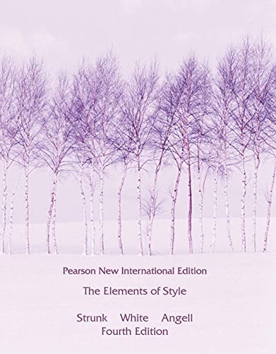 The Elements of Style von Pearson Longman