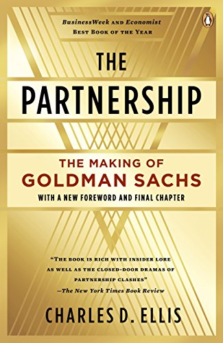 The Partnership: The Making of Goldman Sachs von Penguin LCC US