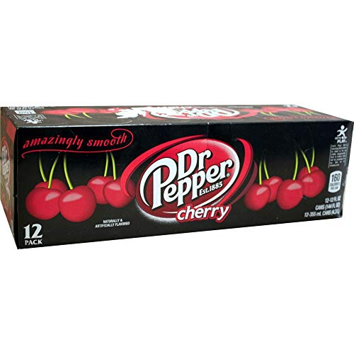 Dr. Pepper Cola Cherry 12 x 0,355l Dose (US Import) von Pepsico