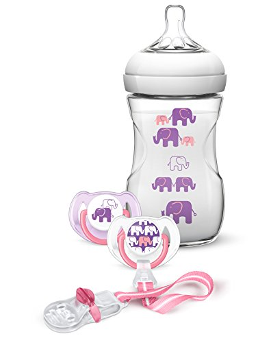 Philips Avent SCD628/01 Naturnah-Flaschen-Set, lila von Philips Avent
