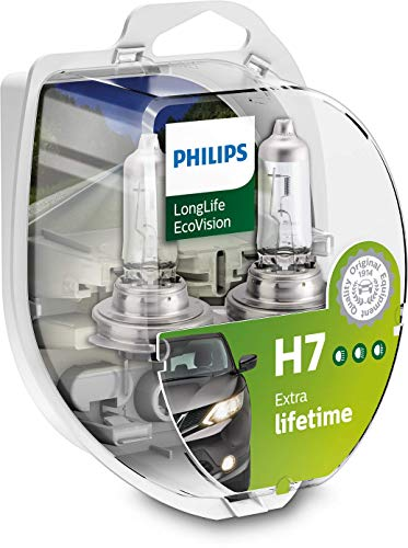 Philips 12972LLECOS2 LongLife EcoVision H7 Scheinwerferlampe Kit von Philips automotive lighting