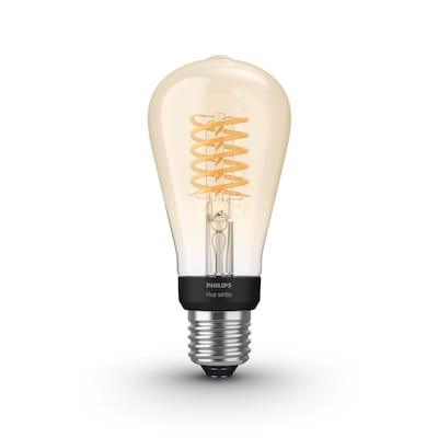 Philips Hue White E27 Filament ST64 LED Lampe 7 W Bluetooth von Philips