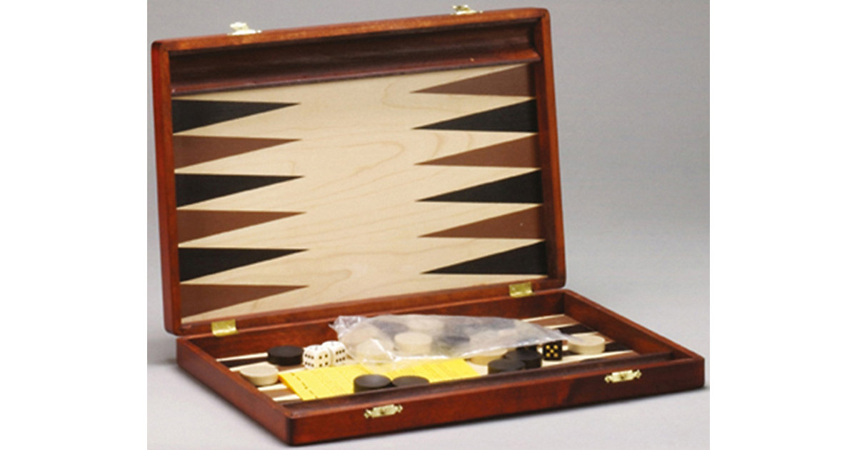Backgammon Kos 35,5 x 23 cm von Philos