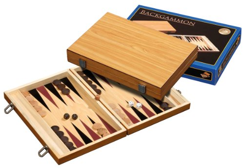 Philos 1181 - Backgammon Skiathos, medium, Kassette von Philos