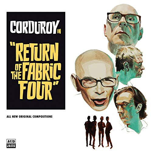 Return of the Fabric Four von Pias Coop/Acid Jazz (Rough Trade)