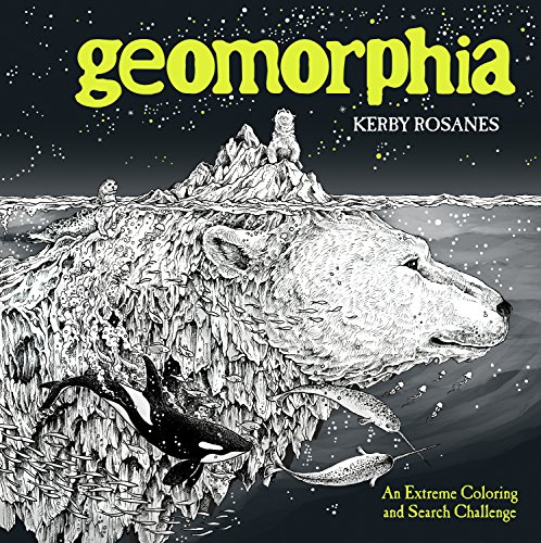 Geomorphia: An Extreme Coloring and Search Challenge von Penguin LCC US