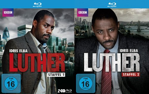 Luther (Staffel 1 + 2 im Set, exklusiv bei Amazon.de) [Blu-ray] von Polyband/WVG