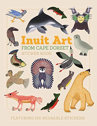 Inuit Art from Cape Dorset Sticker Book von Pomegranate Communications Inc,US