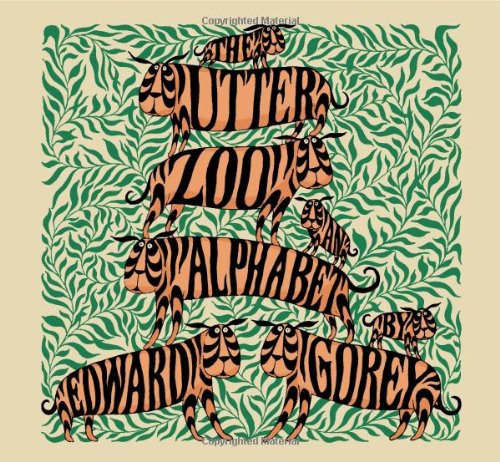 The Utter Zoo: An Alphabet by Edward Gorey A186 von Pomegranate Communications Inc,US