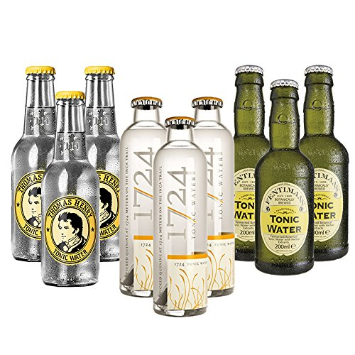 3x3 Tonic Water - 1724, Thomas Henry, Fentimans